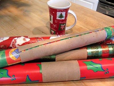 repurposed paper rolls