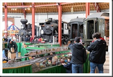 Bubba's Garage: B&O Railroad Museum – Holiday Festival of