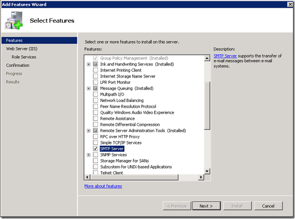Tobias Lekman - Blog - Configuring SMTP relay to Live Mail for
