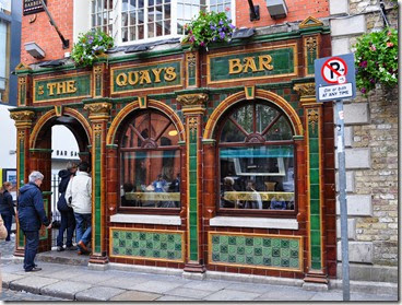Dublín. The Quay's bar, uno de los más animados en Temble Bar -DSC_0484