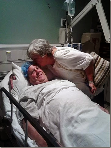 Kiss before Back Surgery