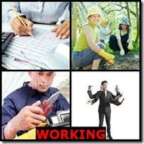 WORKING- 4 Pics 1 Word Answers 3 Letters