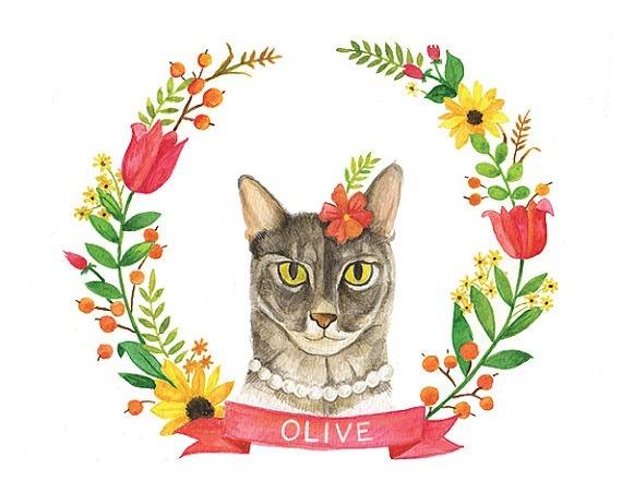 custom grey cat print2