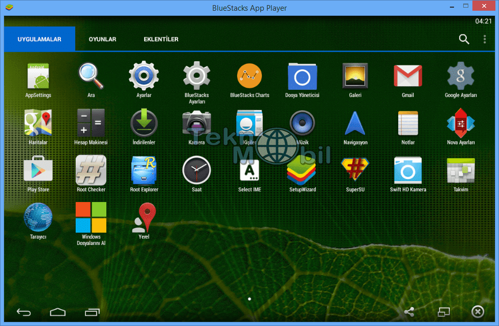 BlueStacks App Player Root v3.7.14.1556 Full İndir