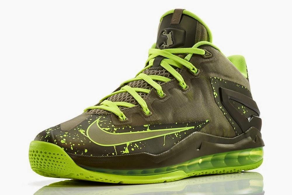 the best attitude 7e36e 74561 Release Reminder Nike Max LeBron XI Low 8220Dunkman8221 ...