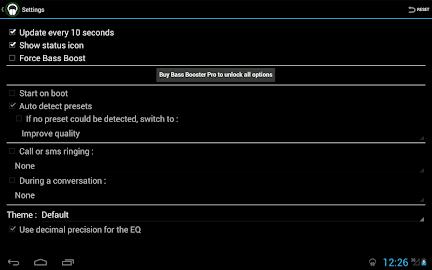 Bass Booster Screenshot 8