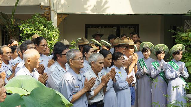 DSC06303 Lễ Hiệp kỵ   Lễ Huý Nhật Cư sĩ Sáng lập viên GĐPT Việt Nam   Tâm Minh Lê Đình Thám