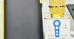MIC KARAOKE M1 - Có 3 Loa , Có Cổng USB, Thẻ Nhớ Chuyển Bài Hát - Âm Thanh Cực Hay