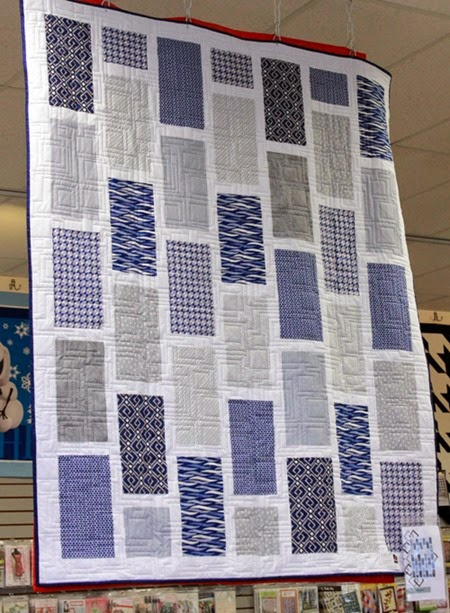 Running Offset quilt pattern