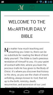 MacArthur Daily Bible - náhled