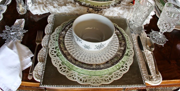 SNOWY TABLESCAPE 2