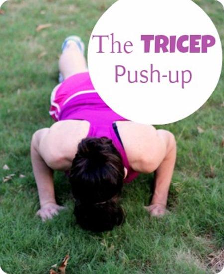 tricep pushup