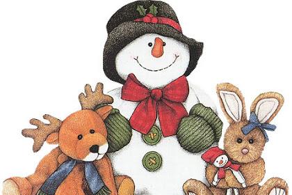 Dibujos De Navidad Con Color Para Imprimir