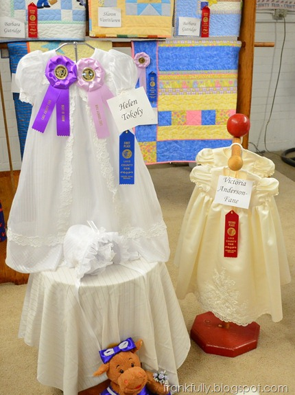 Second place in christening dresses