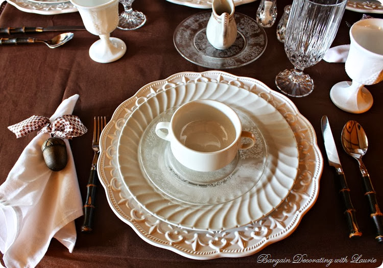 Bargain Decorating with Laurie Tablescape