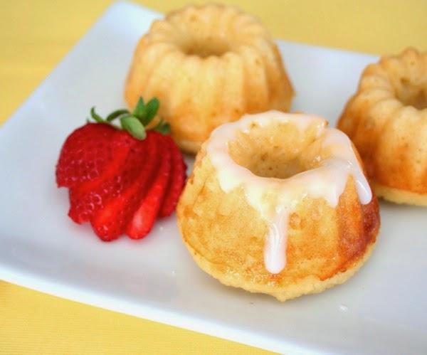Mini Lemon Ricotta Bundt Cakes