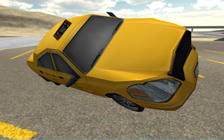 Screenshot of Extreme Taxi Driving 3D