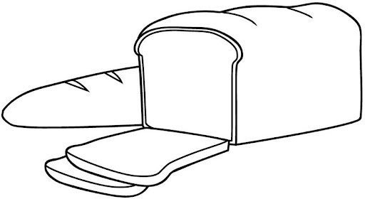 Dibujo pan de molde