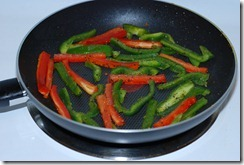 Fry veggies for 2 - 3 minutes