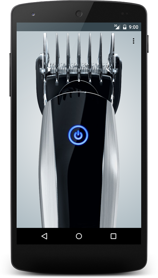 Screenshots of Hair Clipper for iPhone