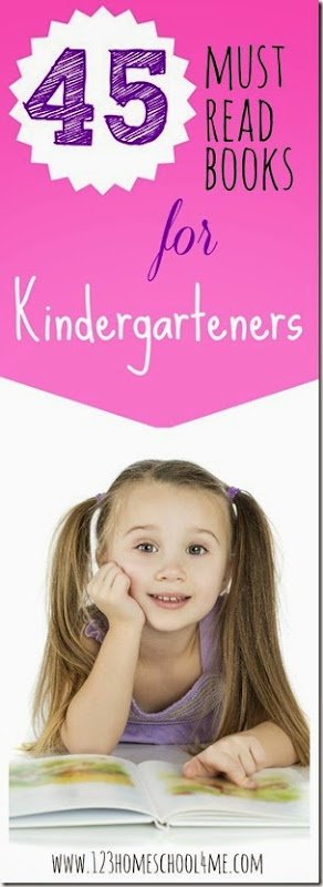 45 Books Kindergartners LOVE to Read #book recommendations #reading #kindergarten #homeschool #preschool