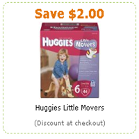 Huggies Little Movers Diapers $ Off Any One Package With Printable Coupon! Posted on November 27th, by Printing Coupons Links in the post may contain affiliate links.