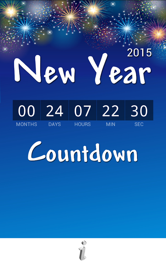 New year countdown 2016 android apps on google play - How to make a countdown your wallpaper ...