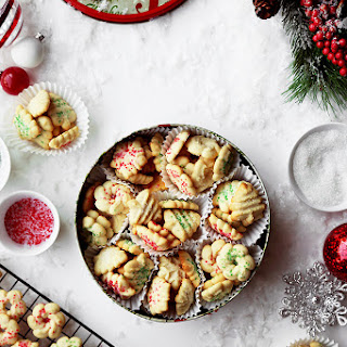 Holiday Danish Butter Cookies