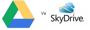 google drive vs skydrive