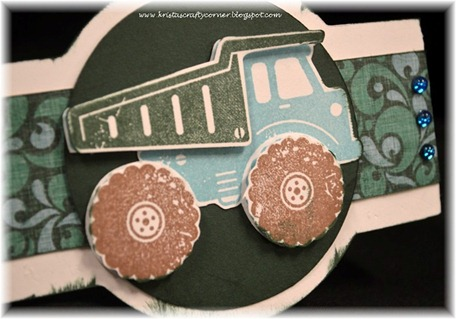Surf's Up card_dump truck card_close up truck