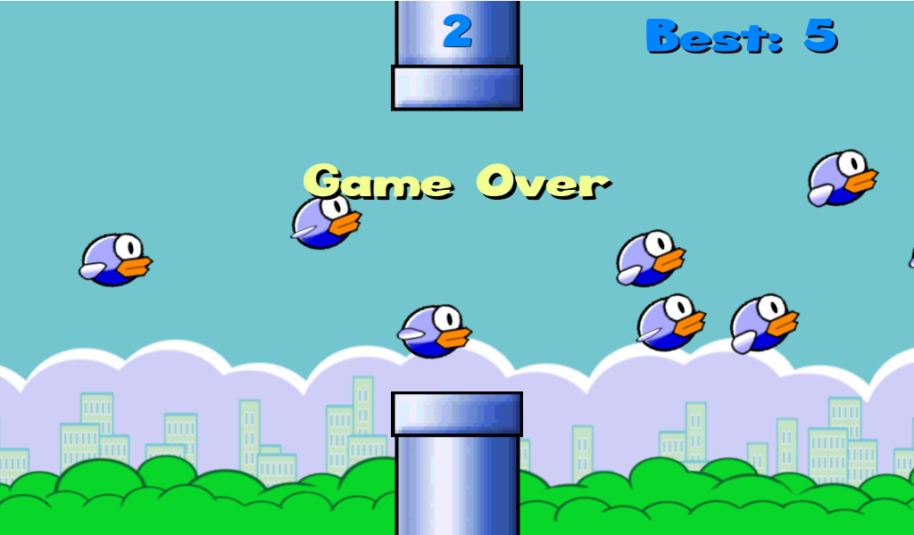Bird Smash aka Flatty Bird - screenshot
