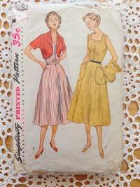 Simplicity 4282 cira 1953 | Lavender & Twill