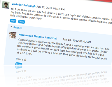 blogger threaded comments