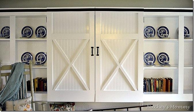 front view barn doors