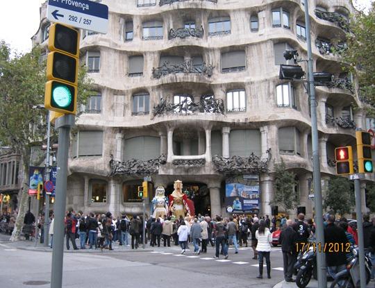 Барселона. Шествие королей