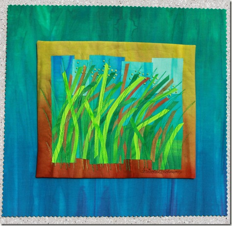 """Blowing in the wind 14"""" x 15"""" $150 sold Norway to Turid Lismoen 3/2012"""