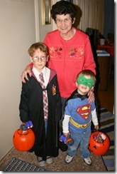 Miss Bobbie with Harry and SuperNolan