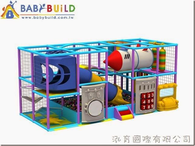 BabyBuild 室內3D泡管遊具