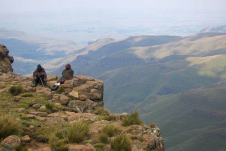 Sani Pass photo gallery - Top of Sani Pass