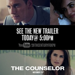 THE COUNSELOR trailer today