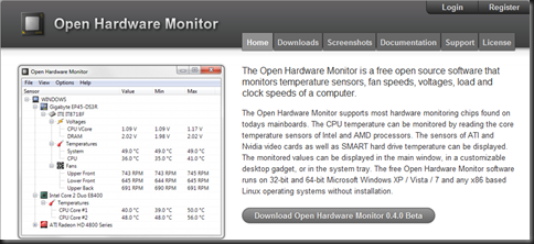 Open Hardware Monitor,硬體溫度監測工具- 無聊詹軟體資訊站