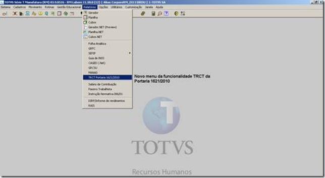 Blog de Outubro, 2012 - TOTVS Connect - TDN 989a2dac71