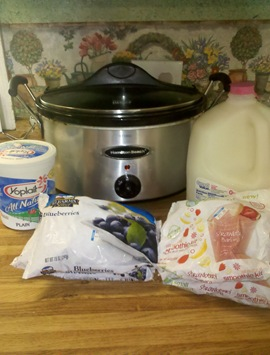 How To Make Homemade Yogurt In The Slow Cooker Large Family Table