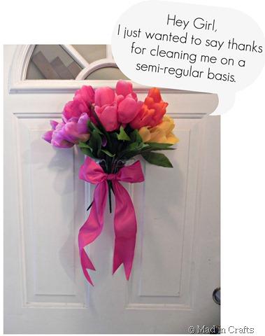 door bouquet