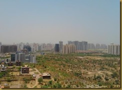 Gurgaon Skyline