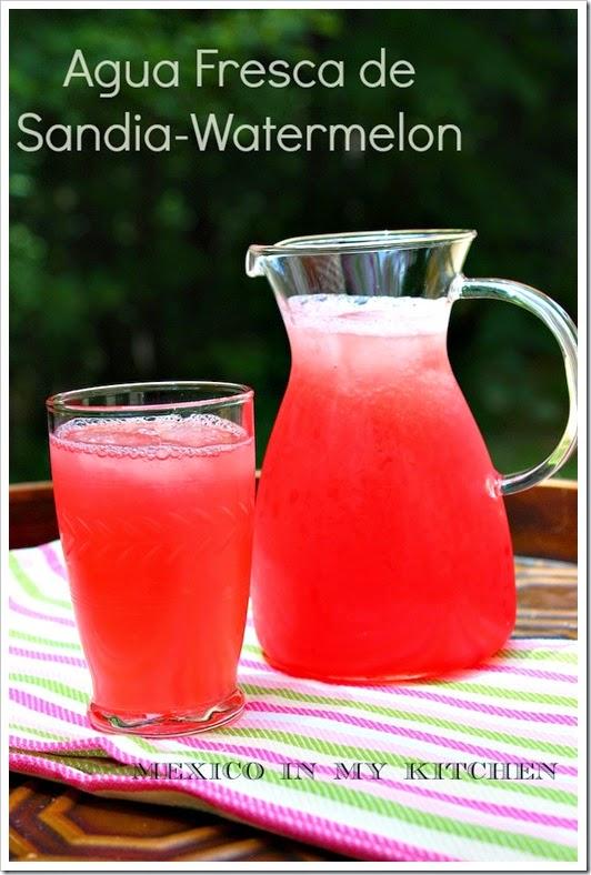 AGUAS FRESCAS, PINEAPPLE, WATERMELON AND CANTALOUPE DRINKS