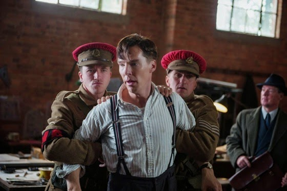 Benedict Cumberbatch as Alan Turing in The Imitation Game