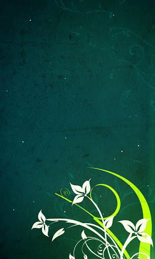 Vector Flowers Live Wallpaper