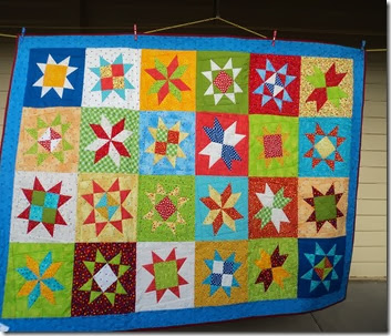 Wonky Star Quilt. 2013