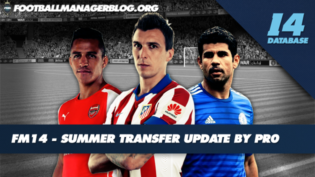 Summer transfer update Football Manager 2014